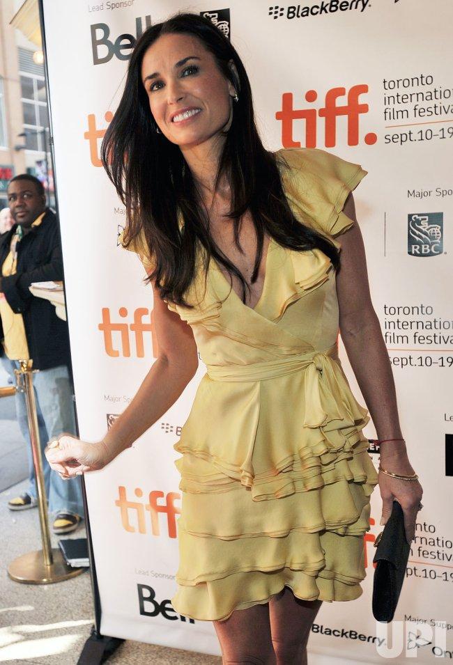 Demi Moore attends Toronto International Film Festival