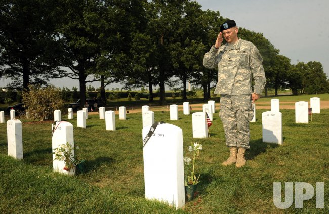 Flags-in for Memorial Day at Arlington National Cemetery