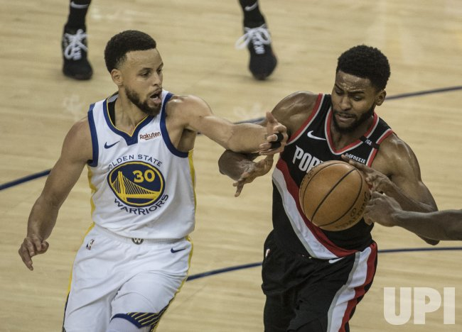 warriors-trail blazers - photo #33
