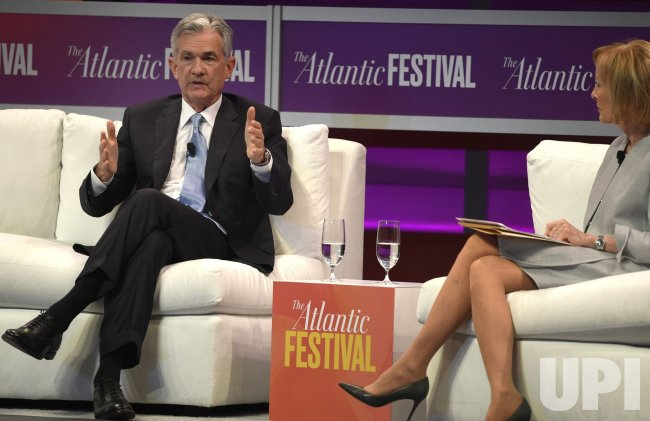 Fed Chairman Powell attends The Atlantic Festival