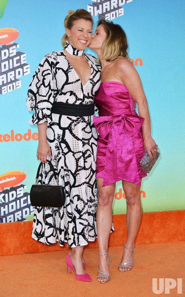 Jodie Sweetin Attends Kids Choice Awards 2019 Upi Com