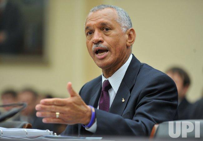 NASA Administrator Charles Bolden Jr. testifies on NASA in Washington