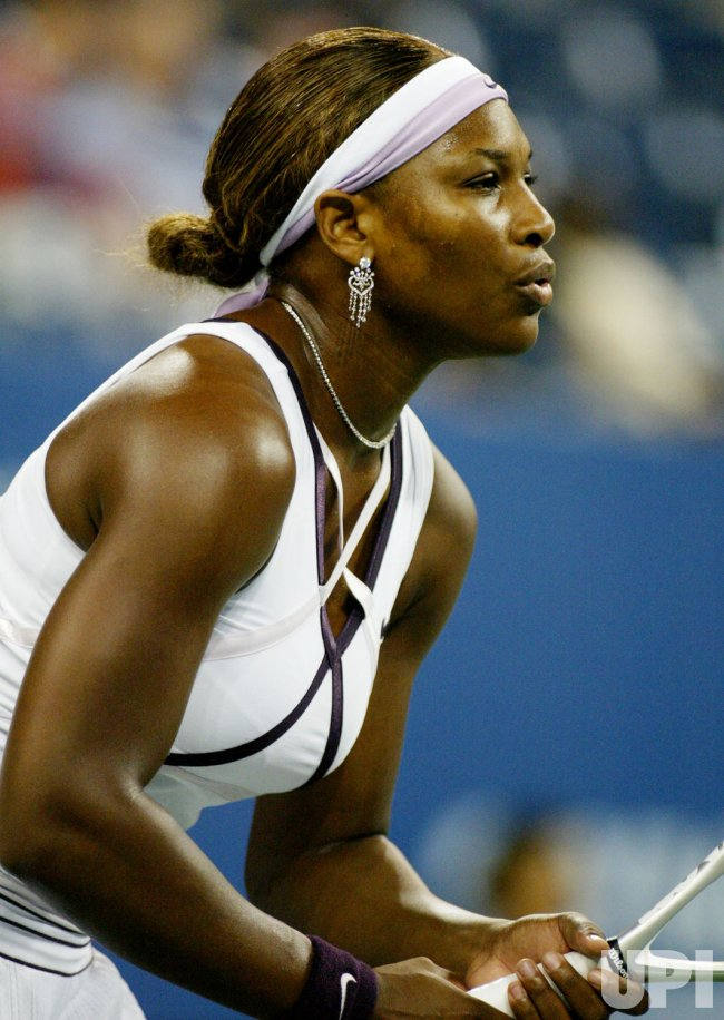 SERENA WILLIAMS VS CASTANO AT US OPEN