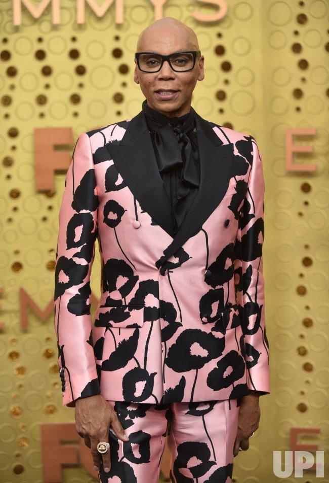 RuPaul attends Primetime Emmy Awards in Los Angeles