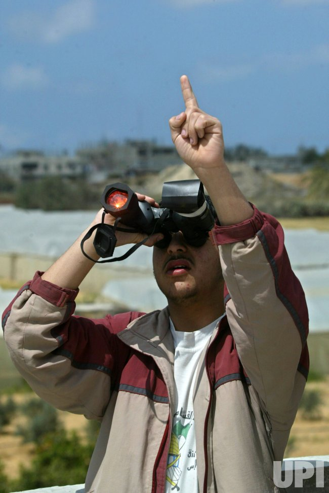 THE SOLAR ECLIPSE IN GAZA