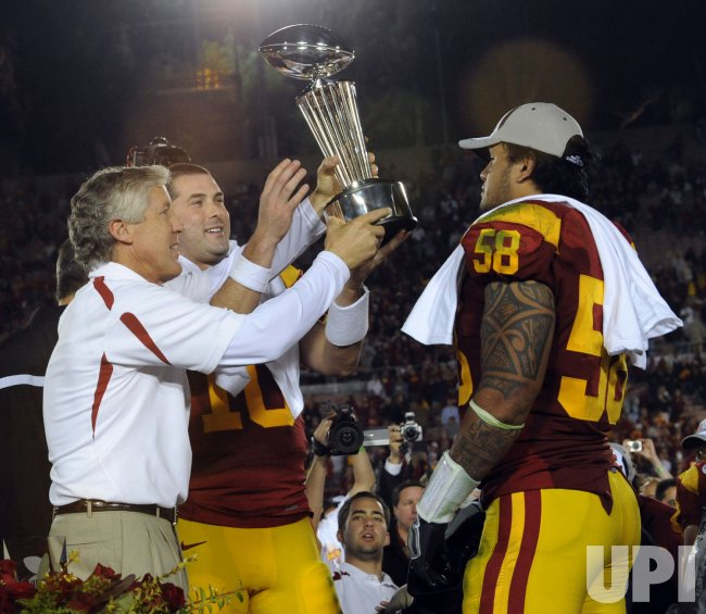 Rose Bowl Illinois vs USC in Pasadena, California