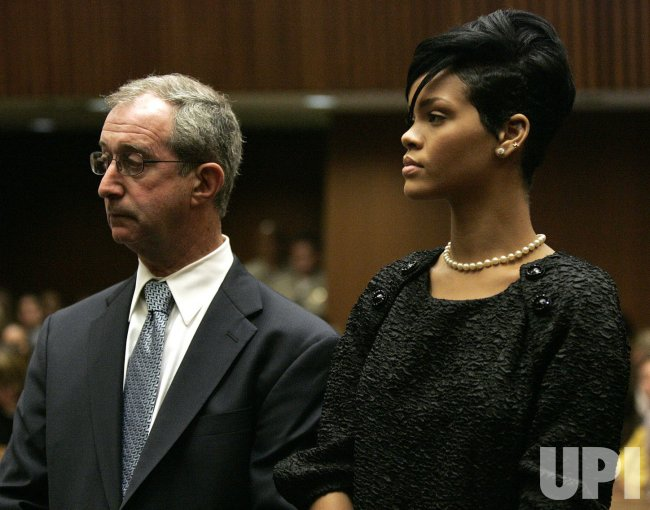 Singer Chris Brown arrives for preliminary hearing in Rihanna assault case in Los Angeles