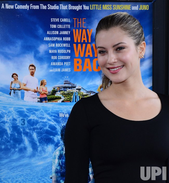 "Zoe Levin attends ""The Way, Way Back"" premiere in Los Angeles"