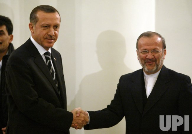 TURKISH PRIME MINISTER ERDOGAN ARRIVES TO IRAN