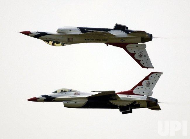 Air Power over Hampton Roads