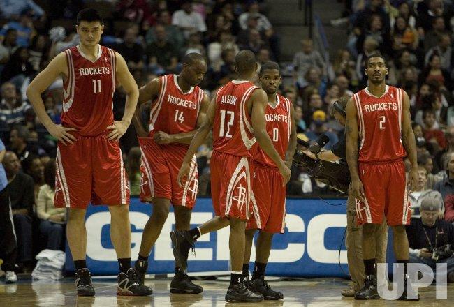 NBA Denver Nuggets host Houston Rockets