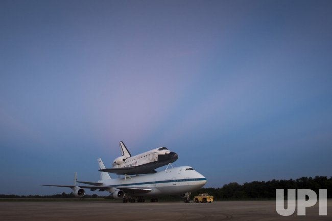 Final ferry flight for Space Shuttle Program at NASA