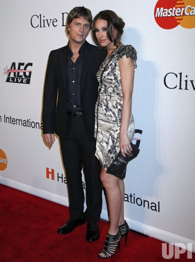 Rob Thomas arrives at the Clive Davis Pre-Grammy Gala in Beverly Hills