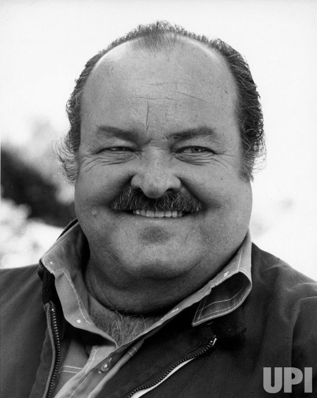 Actor William Conrad in 1974