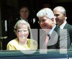 Secretary of State Albright visits Israel