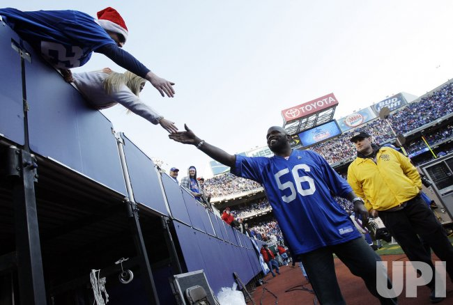 Final Regular Season game ever for the New York Giants at Giants Stadium in New Jersey