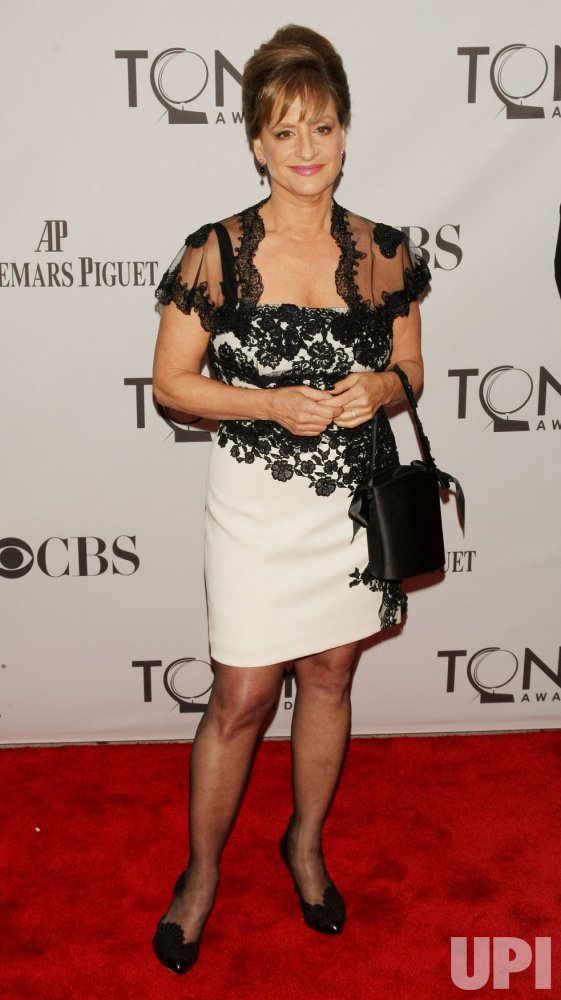 Patti LuPone attends the 65th Annual Tony Awards held in New York