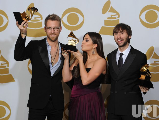 Lady Antebellum wins Best Country Album at the Grammys in Los Angeles
