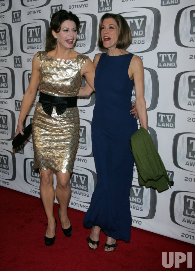 Jane Leeves and Wendy Malick arrive for the TV Land Awards in New York