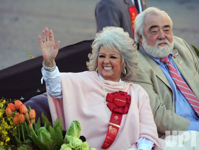 Grand Marshal Paula Deen participates in 122nd Rose Parade in Pasadena