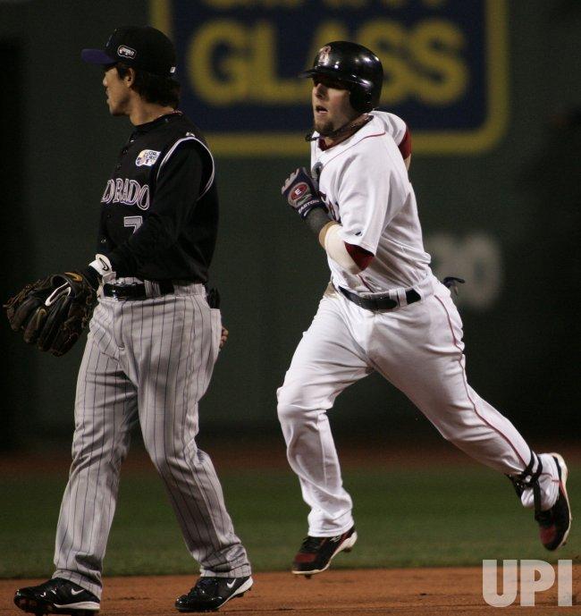 Colorado Rockies vs Boston Red Sox World Series