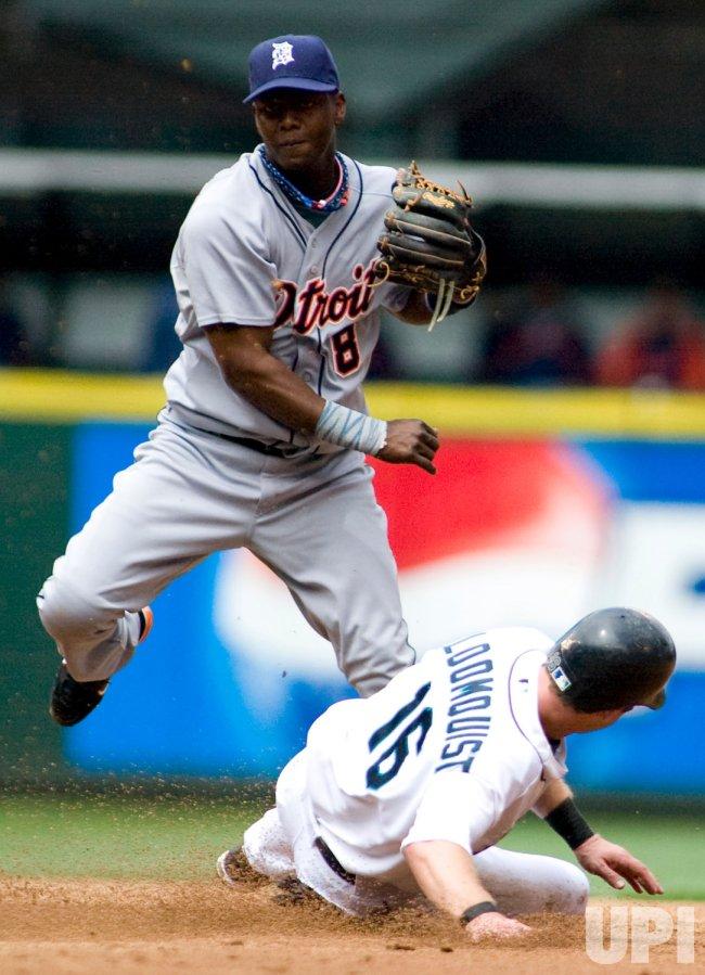 Detriot Tigers vs Seattle Mariners in Seattle