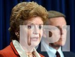 Stabenow calls for the removal of provision in the Homeland Security bill designed to protect drug maker Eli Lilly and Co