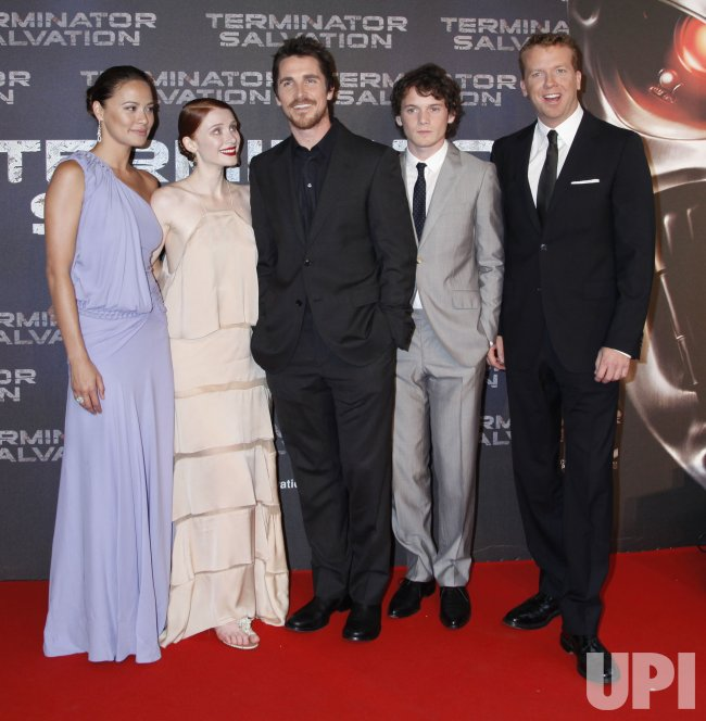 """Terminator Salvation "" european premiere in Paris"