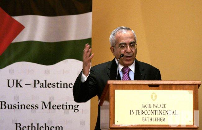 British PM Gordon Brown visits West Bank