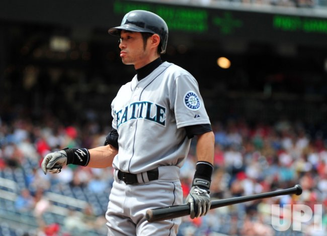 Seattle Mariners Ichiro Suzuki in Washington