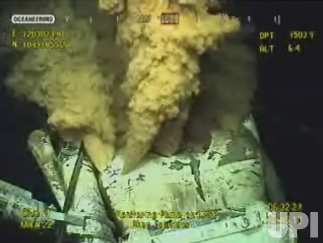 "BP uses ""Top Kill"" method to try to stop oil leak in the Gulf of Mexico"