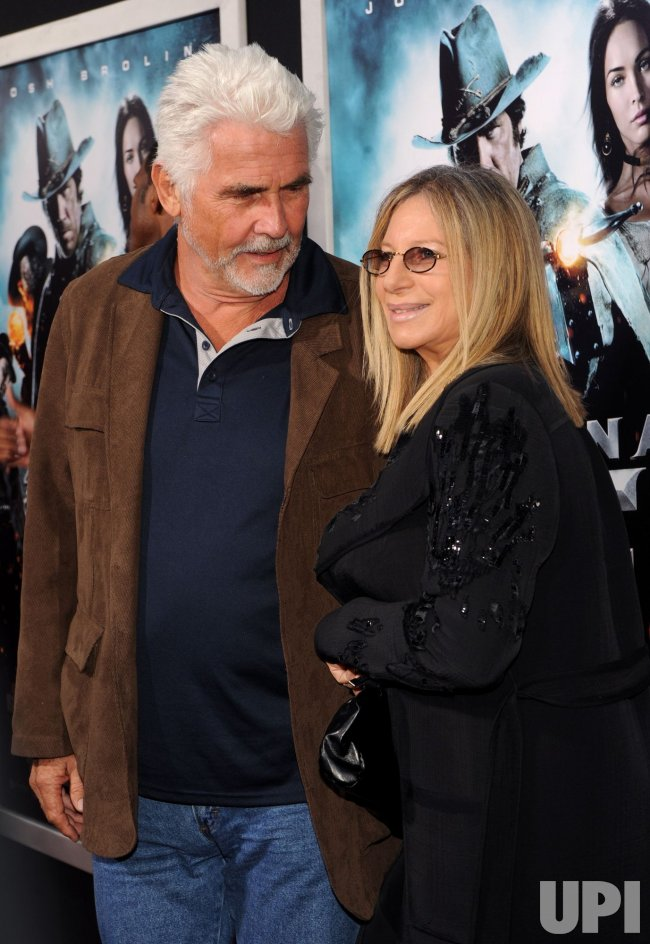 "James Brolin and Barbra Streisand attend the ""Jonah Hex"" premiere in Los Angeles"