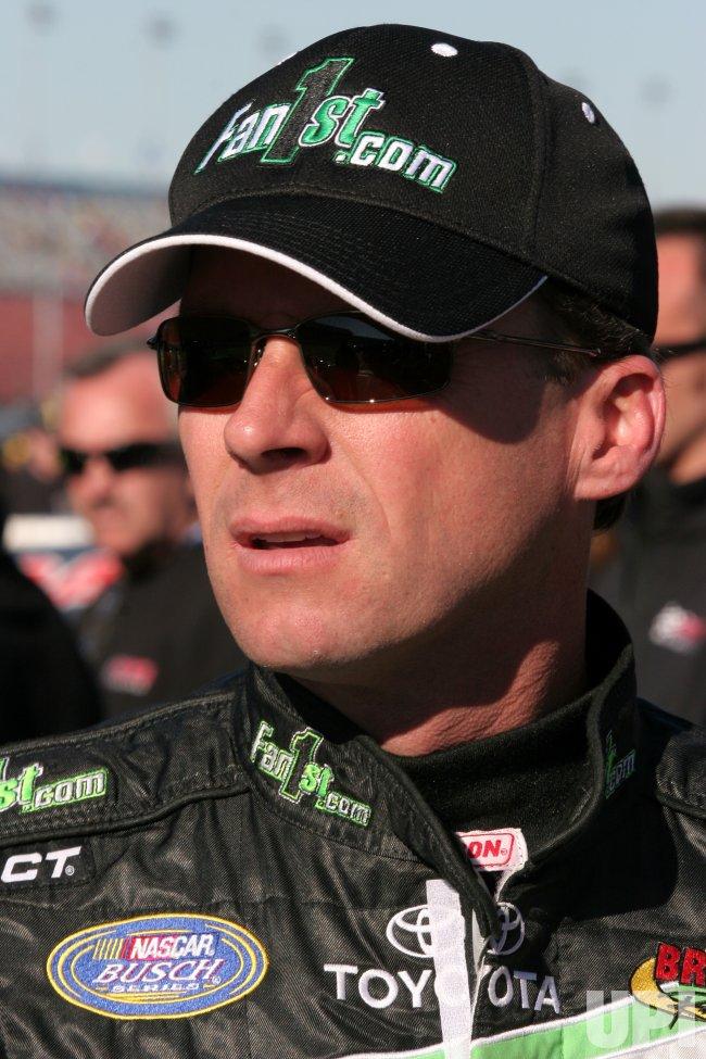 NASCAR BUSCH ORBITZ 300 QUALIFYING
