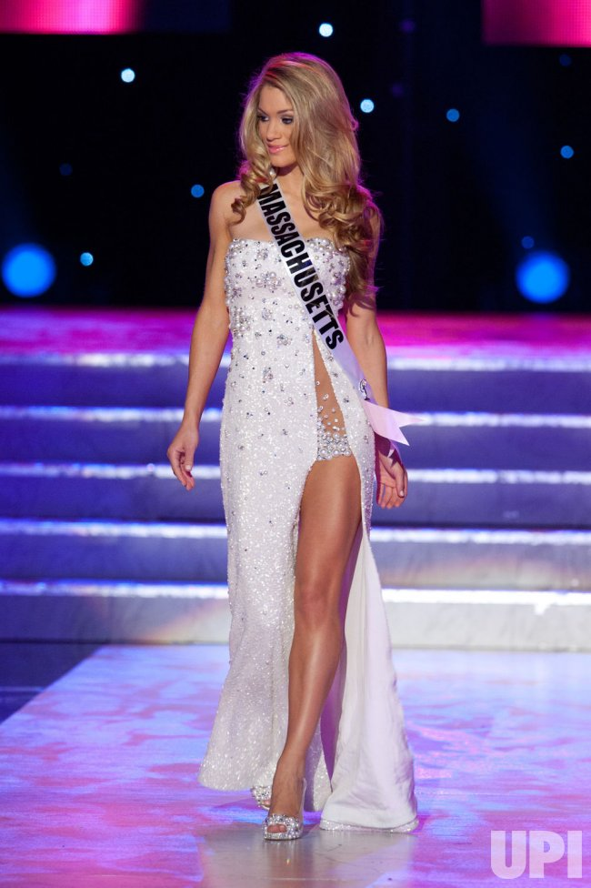 Miss USA evening gown competition held in Las Vegas - UPI.com