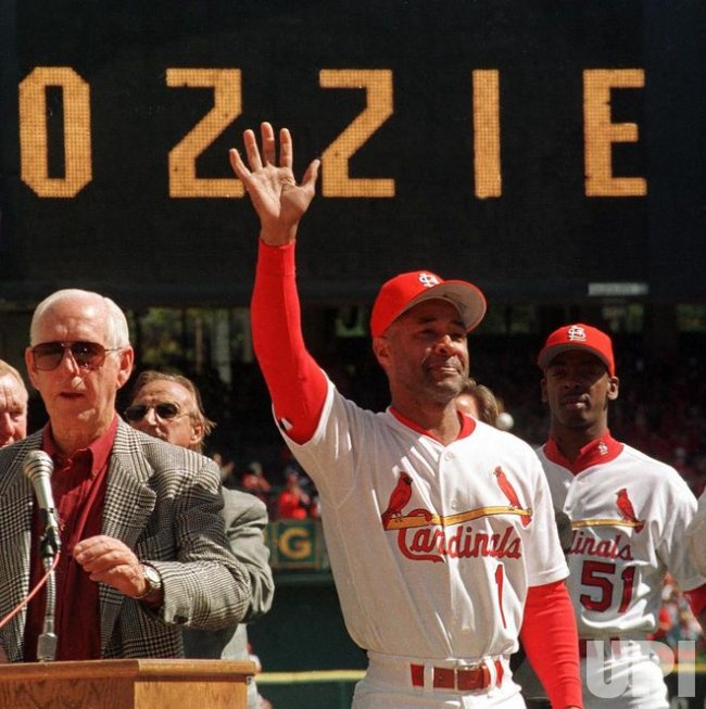 St. Louis Cardinals Ozzie Smith elected to Baseball Hall of Fame