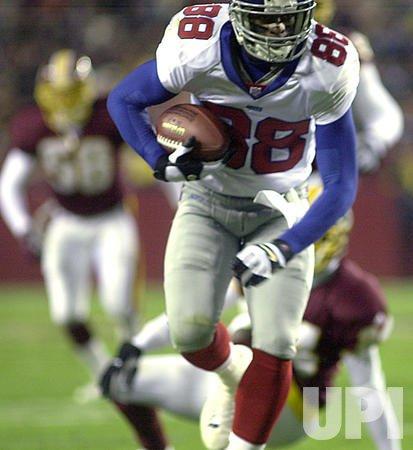 Giants V. Redskins