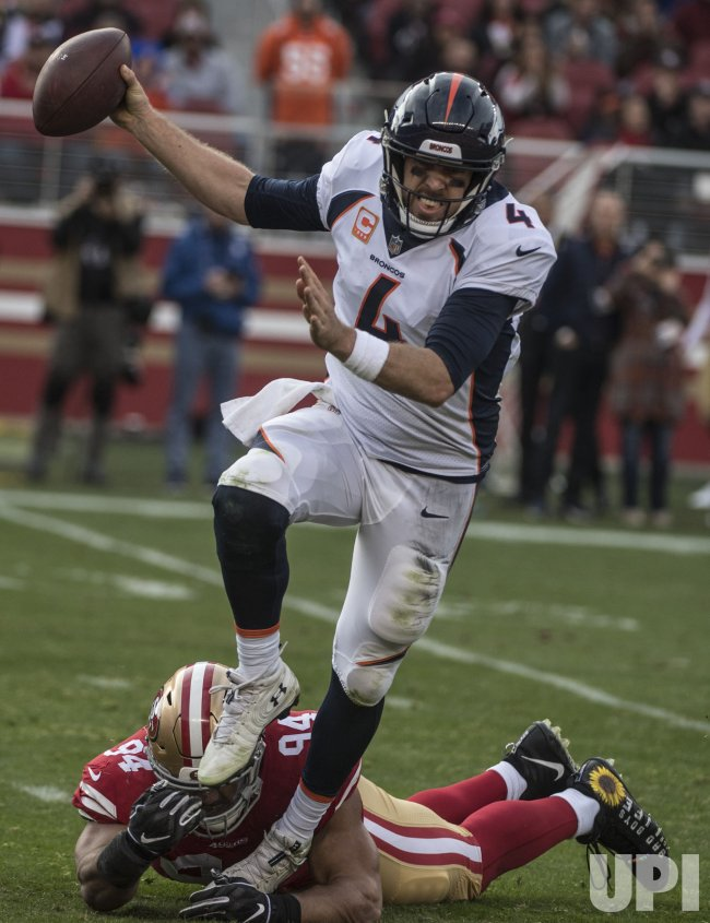 Broncos QB Case Keenum loses to SF 49ers 20-14