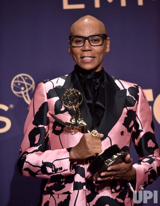 RuPaul wins award at Primetime Emmy Awards in Los Angeles