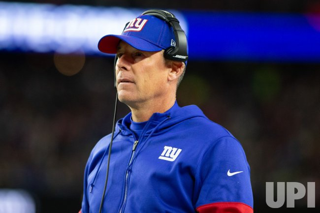 Giants Shurmur against Patriots