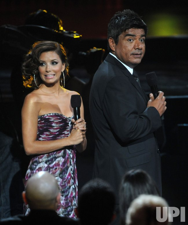Eva Longoria and George Lopez co-host the ALMA Awards in Los Angeles