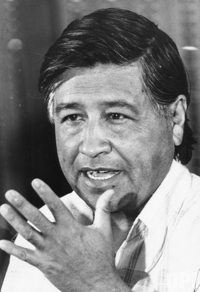 United Farm Workers leader Cesar Chavez responds to reports that the Ku Klux Klan is trying to get involved