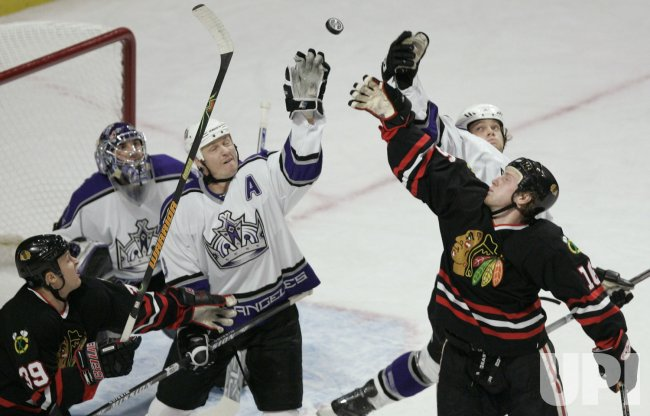 NHL LOS ANGELES KINGS VS CHICAGO BLACKHAWKS