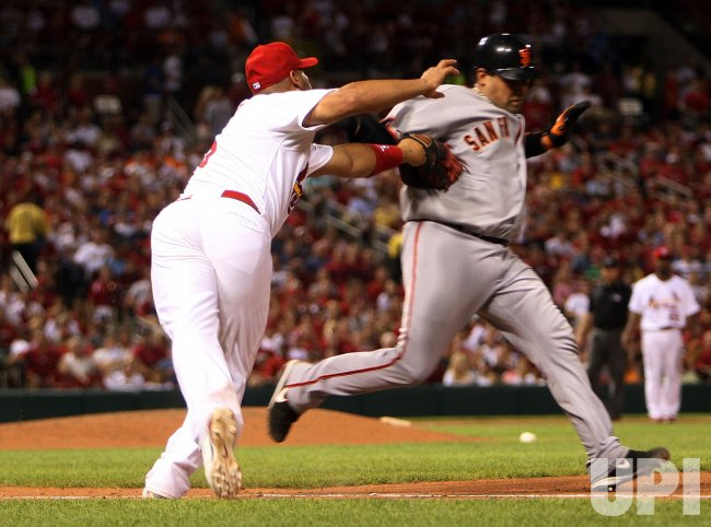 San Francisco vs St. Louis Cardinals