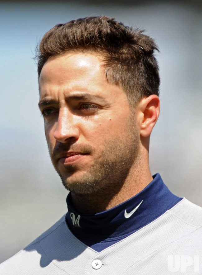 Milwaukee Brewers' leftfielder Ryan Braun in Washington