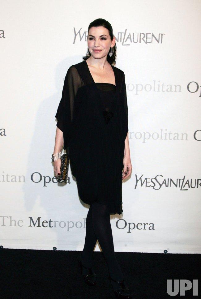 125th Anniversary Gala of the Metropolitan Opera in New York