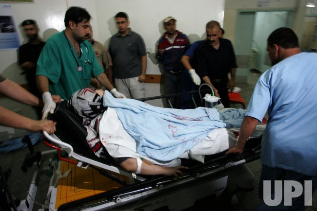 An Israeli Air Strikes in Gaza.
