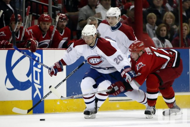 CAROLINA HURRICANES VS MONTREAL CANADIENS