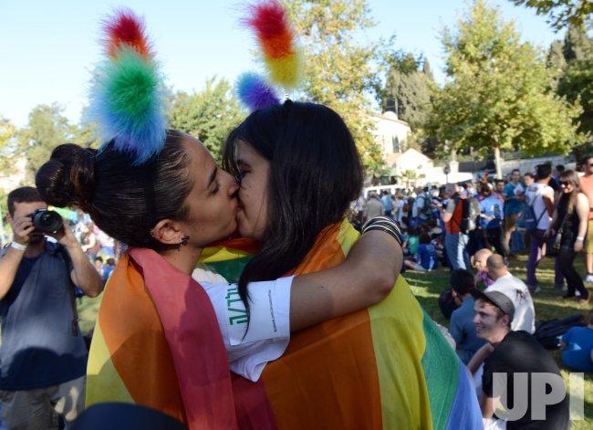 Jerusalem Gay Pride Parade Upi Com