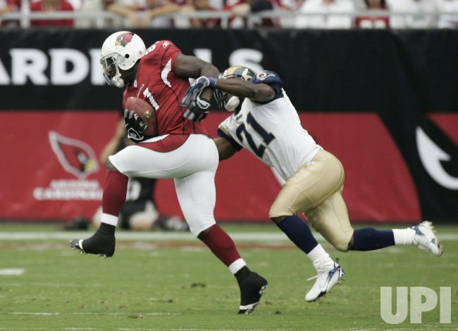 ST. LOUIS RAMS VS ARIZONA CARDINALS