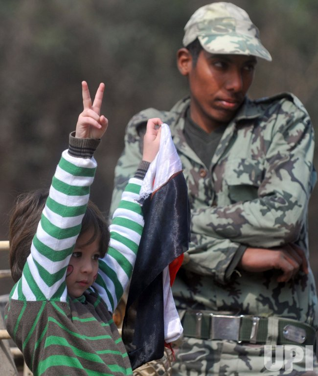 Egyptians Popular Uprising Toppled Mubarak